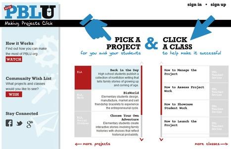 PBLU.org   Making Projects Click   APRENDIZAJE BASADO EN PROBLEMAS   Scoop.it