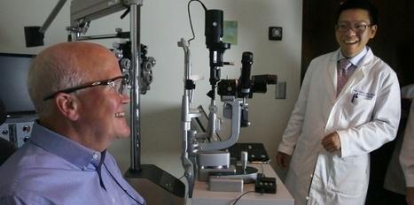 Un aveugle recouvre la vue grâce à un œil bionique (vidéo) | Santé & Médecine | Scoop.it