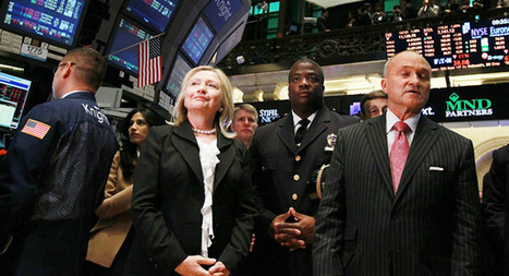 Wall Street Republicans' dark secret: Hillary Clinton 2016 | Coffee Party News | Scoop.it