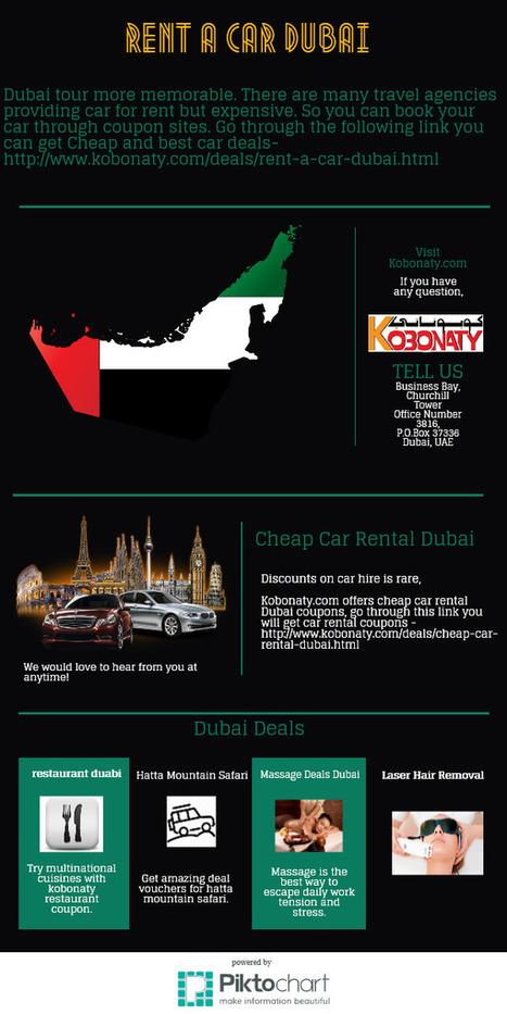 Rent a car Dubai | Kobonaty deals and discounts coupons in Dubai | Scoop.it