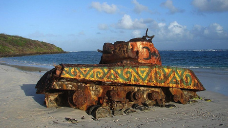 These Abandoned Tanks Are Rusting Mementoes of the Wars of the Past | Strange days indeed... | Scoop.it