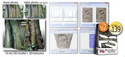 Photosculpt Textures v2 Software is out! | Infographie 3D | Scoop.it