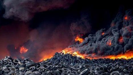 El incendio de Seseña está liberando grandes cantidades de sustancias tóxicas y metales pesados | Periodismo Ecológico Ambiental | Scoop.it
