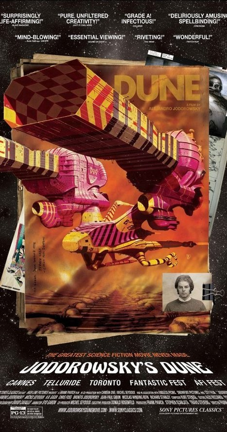 Jodorowsky's Dune (2013)   Art, graphic design, video production, animation and illustration   Scoop.it