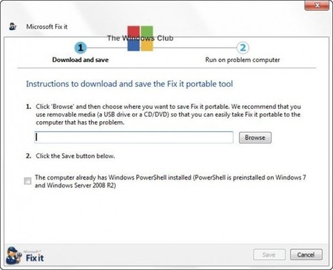 Download Portable Fix It Troubleshooters Suite from Microsoft | Time to Learn | Scoop.it