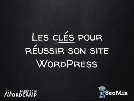 Les clés pour réussir son site WordPress - SeoMix au WordCamp Paris 2016 | Hopital 2.0 | Scoop.it