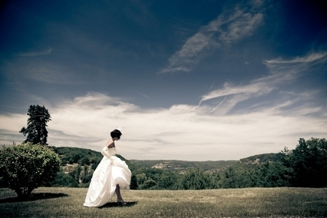 Real Life Weddings France: Dordogne » French Wedding Style | Wedding Photography in Normandy | Scoop.it