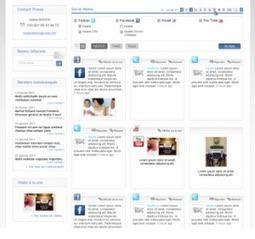 Un blog ou une newsroom (centre de presse en ligne)? | RP: Relations Presse ou Relations Publiques ? | Scoop.it