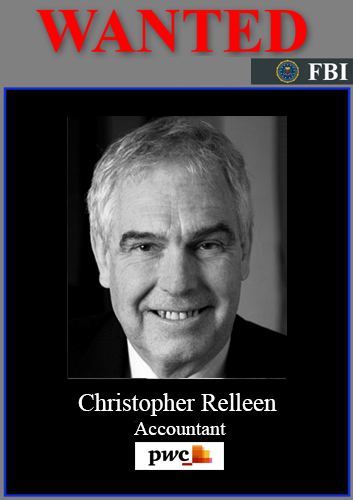 FBI MOST WANTED UK MUG*SHOT CHRISTOPHER RELLEEN - PWC Chairman Biggest Organised Crime Bank Fraud Case - Google Search | National Crime Agency Criminal Prosecution Files ** JERWOOD FOUNDATION * TAYLOR WESSING * FARRER & CO * WITHERS * BANK OF ENGLAND * PRUDENTIAL REGULATION AUTHORITY * PWC * ICAEW * HASLERS * SMITH WILLIAMSON ** City of London Police Biggest Bank Fraud Case | Scoop.it