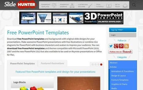 SlideHunter, más de 500 plantillas gratuitas para PowerPoint | Herramientas digitales | Scoop.it