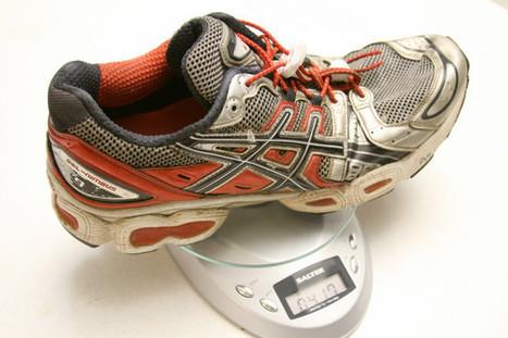 ¿Cuánto tienen que pesar mis zapatillas de correr? | xoliveras | Scoop.it