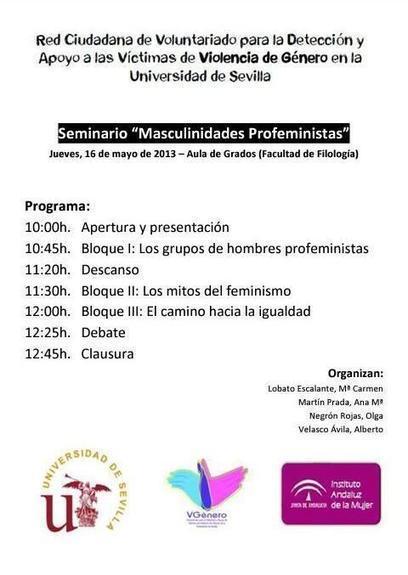 Twitter / VGenero_US: 16 de mayo de 2013 de 10 a 13h   Cuidando...   Scoop.it