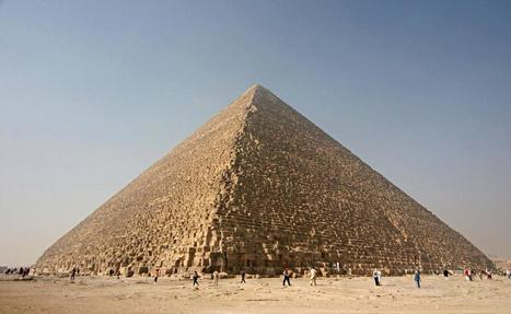 Great Pyramid of Giza Is Slightly Lopsided | News in Conservation | Scoop.it