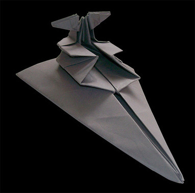 Star Wars Origami | Minimal Art: Sadelik, Zeka ve Mizah. | Scoop.it