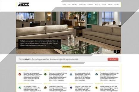 Jezz is a free Portfolio WordPress Theme by TutsPress   WP Daily Themes   winning   Scoop.it