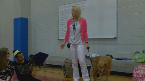 Therapy dogs help Nacogdoches ISD students learn lessons about empathy | Empathy and Animals | Scoop.it