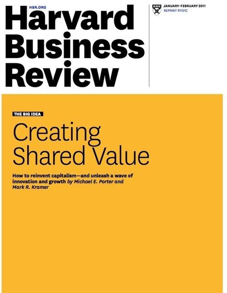La valeur partagée : innover en sortant des territoires habituels - Without Model | Entrepreneuriat | Ondernemerschap | Scoop.it