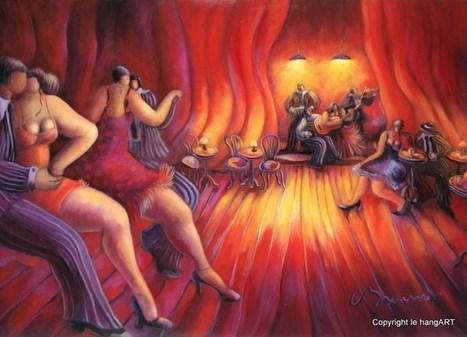 tableau brenner 237 - Vendredi soir au dancing | Tableaux de C. Brenner | Scoop.it
