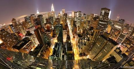 Alucinante imagen panorámica nocturna de 360º de Nueva York desde el cielo | Cosas que interesan...a cualquier edad. | Scoop.it