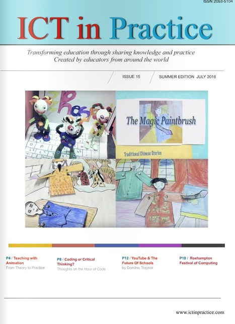 Issue 15 - ICT in Practice magazine   Primary Science and Technology   Scoop.it