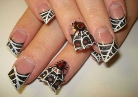 30 Fanciful Halloween Nail Art in 2014 | Nail Art | Scoop.it