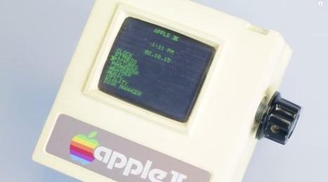 Apple II Watch, la version vintage que vous pouvez fabriquer vous-même grâce à une imprimante 3D ! | Trollface , meme et humour 2.0 | Scoop.it