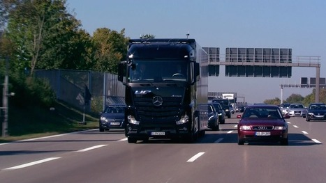Self-driving truck hits the highway in world first | Sustainable Futures | Scoop.it