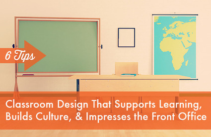 Class. Six Tips For Classroom Design That Supports Learning, Builds Culture and Impresses the Front Office – TeacherPop | Library learning spaces | Scoop.it