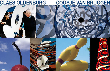 Claes Oldenburg & Coosje van Bruggen | Art and Textiles in Education | Scoop.it