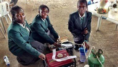 Nigerian Girls Invent Urine-Powered Generator | Nigeria Innovation | Scoop.it