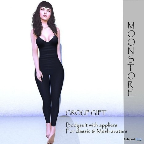 Body Suit with Mesh Body Appliers Group Gift by Moonstore | Teleport Hub - Second Life Freebies | Second Life Freebies | Scoop.it