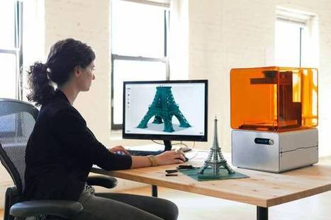 Affordable precision 3D printer for professionals runs on stereolithography | Amazing Science | Scoop.it