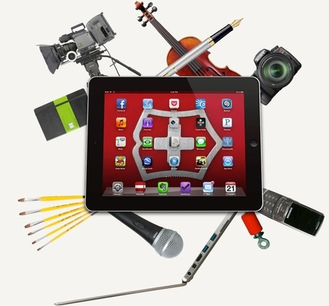 How an iPad is a More Powerful Content-Creation Device Than a Laptop. | mLearning in Higher Education | Scoop.it