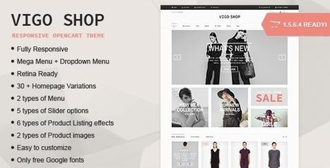 Vigo Shop Responsive Multipurpose Opencart Theme - ServerThemes.Net | Best Premium OpenCart Themes | Scoop.it