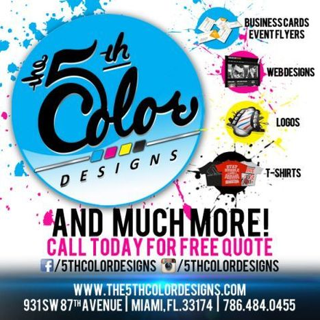Miami Based Graphic Design, Web Design, & Printing Company     Graphic Design, Web Design, & Printing Company   Scoop.it