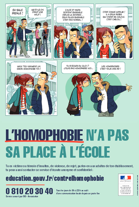 Journée internationale de lutte contre l'homophobie et la transphobie via @EducationFrance | La bande dessinée FLE | Scoop.it