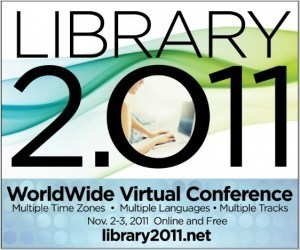 Free Library 2.011 Worldwide Virtual Conference Nov 2-4 | Professional registration for NZ Librarians | Scoop.it