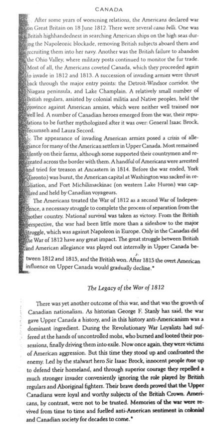 Teaching the War of 1812 (From a Canadian Point of View)   History Classroom Resources   Scoop.it