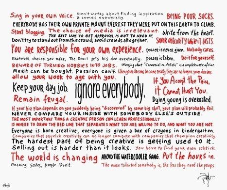 Ignora a todos: 38 reglas para la creatividad de Hugh McLeod | Jose Antonio Pajaron | Scoop.it