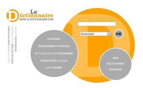 LE DICTIONNAIRE - Dictionnaire français en ligne gratuit   Tips voor de Franse les   Scoop.it