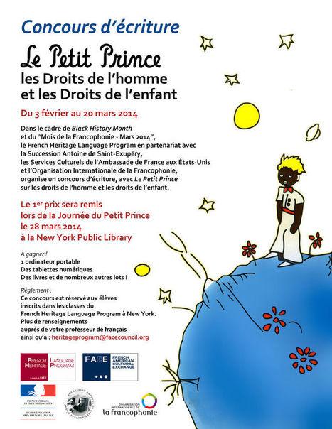 Concours d'écriture sur les droits de l'homme, les droits de l'enfant et Le Petit prince.   La Faim de l'Histoire   Scoop.it
