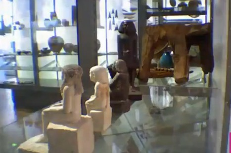 Video: Mystery of 'possessed' Egyptian statue which rotates in the night ... - Mirror.co.uk | Ancient Egyptian World | Scoop.it