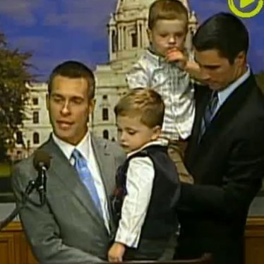 These Gay Dads Wanted To Give A Speech On Marriage Equality, And What They Got Instead Was Hilarious | This Gives Me Hope | Scoop.it