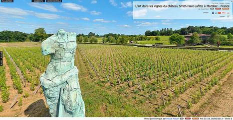 Visite virtuelle - Art dans les vignes du château Smith-Haut-Lafitte à Martillac - France par Pascal Moulin | moulin360panoramic | Scoop.it