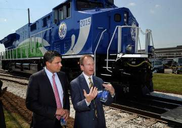 GE unveils prototype of its latest locomotive - GoErie.com | Social Network for Logistics & Transport | Scoop.it