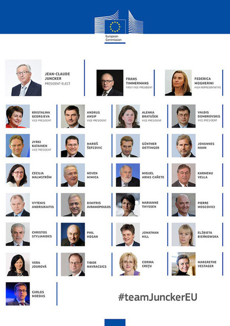 La nuova Commissione Juncker crede nel Digitale e presenta due nomine | InTime - Social Media Magazine | Scoop.it