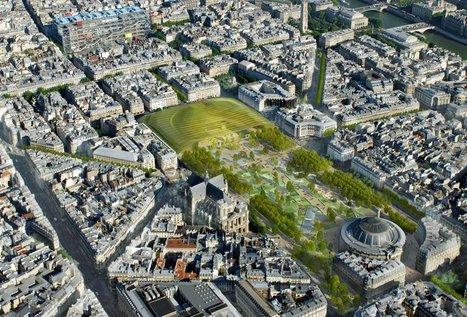 Vue en haute définition du futur Forum des Halles | Projet les Halles | Scoop.it