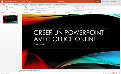 Office Online : Microsoft Word, Excel et PowerPoint disponibles gratuitement | Time to Learn | Scoop.it