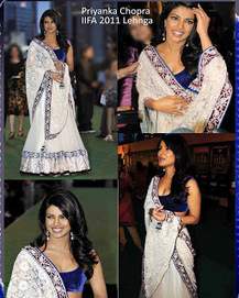 Rajasthani Special: Priyanka Chopra – Fashion Icon for Bollywood Sarees | Bollywood Sarees | Scoop.it