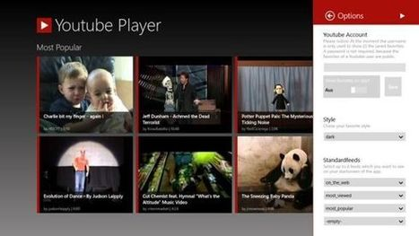 YouTube Player app for Windows 8- A Featured Rich App | Mobile Websites vs Mobile Apps | Scoop.it